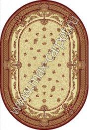 Шерстяной молдавский ковер European Dofin 209-1659 овал