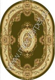 Шерстяной молдавский ковер European Bushe 210-5542 овал