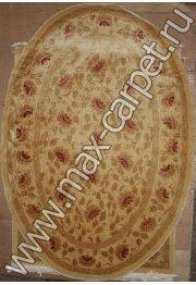 Китайский ковер ручной работы 120 линий AB055 oval