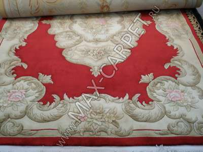 Ковер китайский ручная работа SHD-6 RED +Овал