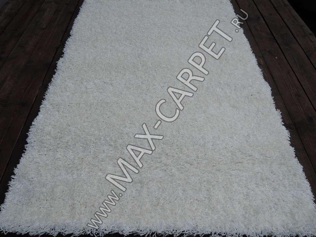 ковер длинноворсовый Shaggy Lazenie 00063A WHITE WHITE