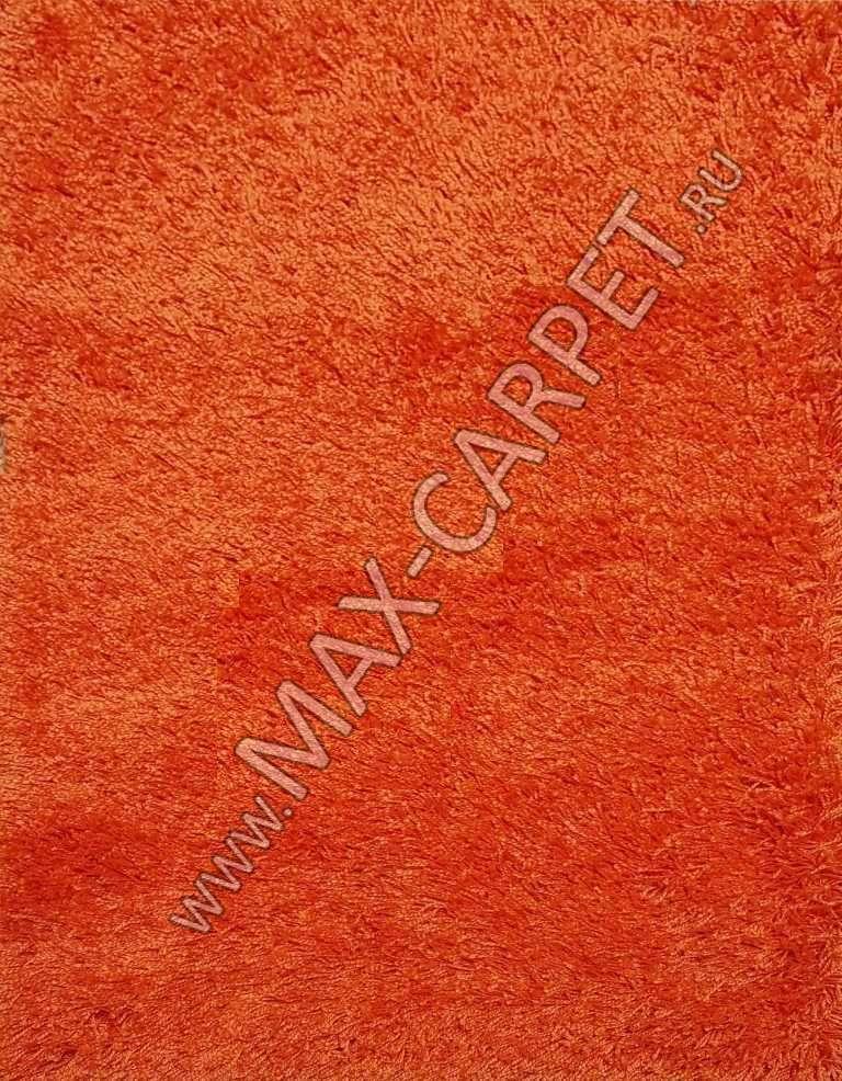 Турецкий ковер с длинным ворсом Shaggy Xxx 00063A STAN ORANJ / ORANJ