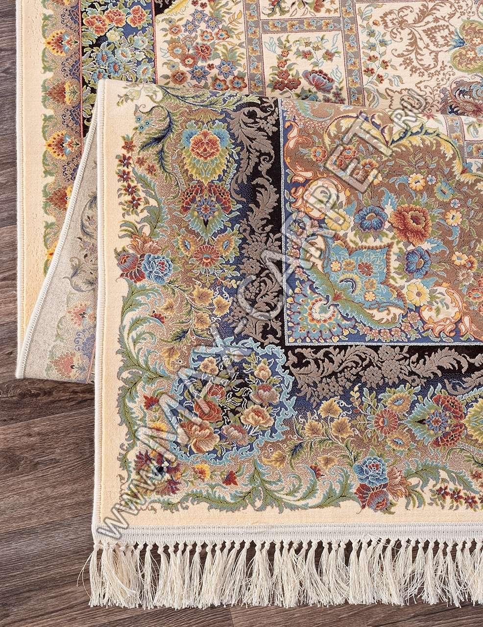 Иранский ковер из бамбука  SHIRAZ POPAK — CREAM
