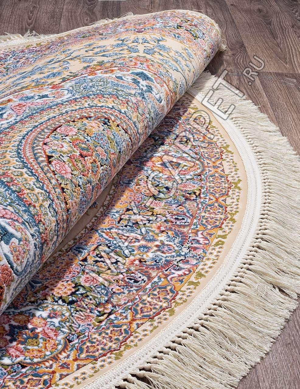 Иранский ковер из бамбука SHIRAZ 1130 — TABRIZ Krug