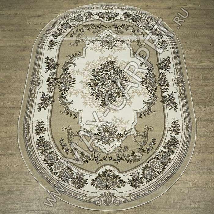 Российский ковер Комфорт дизайн 22203 цвет 29766 Овал
