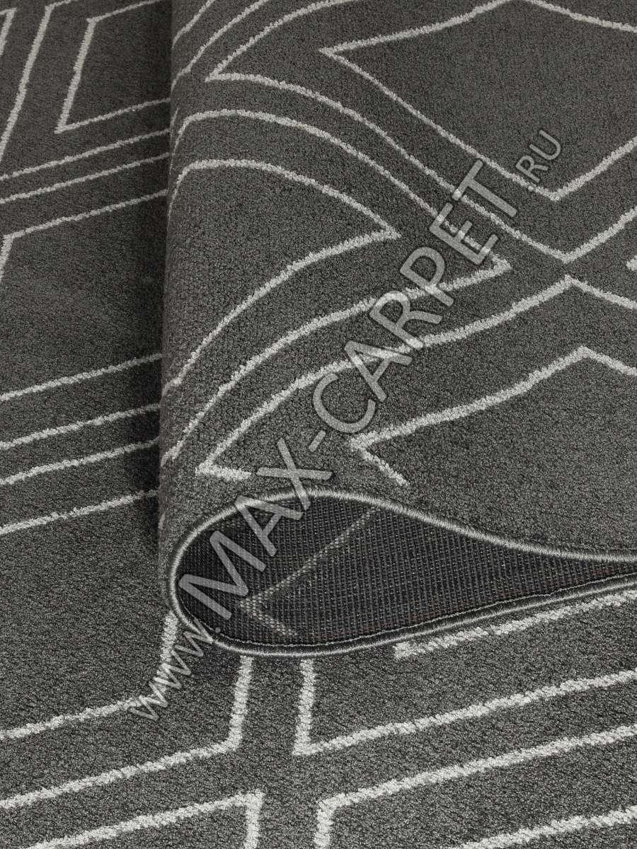 Бельгийский ковер Ambiance 81223 Anthracite-Silver