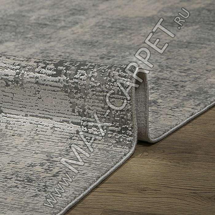 Турецкий ковер из бамбука DOKU дизайн B173B цвет COKME_DGRAY / A_GREY