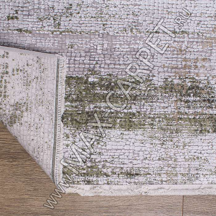 Турецкий ковер из вискозы Elexus Olimpos 1918 цвет BEIGE Oval